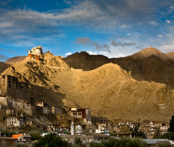 ladakh sunset view