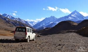 jeep adventure at spiti