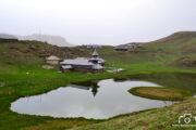 side view of prasher lake