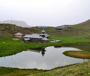side view of prasher lake