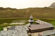 Top view of prasher lake