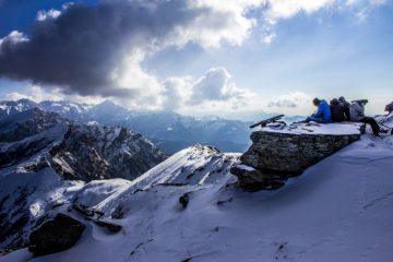 kedarnath snow trekking from himachal