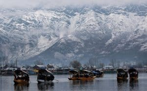 snowfall at shirinagr