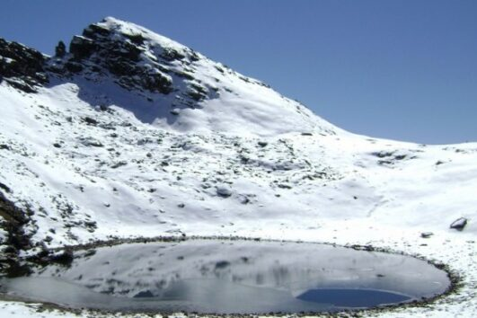 Bhrigu lake trek in Mnalai Himachal Pradesh