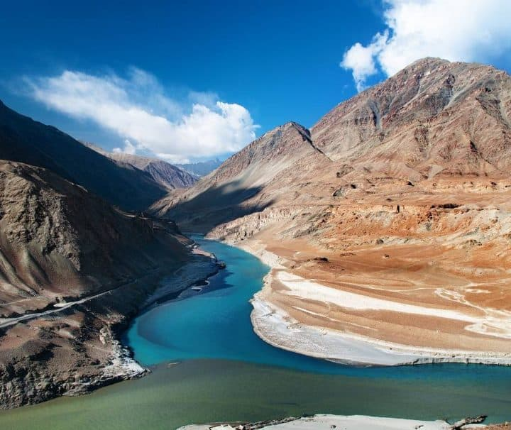 lake view of ladakh
