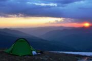 chanshal sunset view review of himalayan footslog