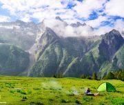 Camping at Dayara Thach