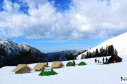 Chandernahan Snow trekking at Shimla