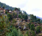 Rupin pass village himachal treking