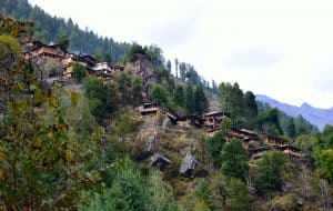 Rupin pass village himachal treking