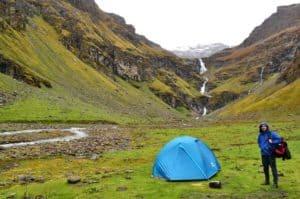 Rupin pass waterfall