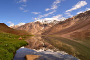 Chandertaal lake trekking at himachal